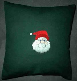 1 Kissen -Weihnachtsmann- - Bild vergrößern