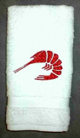1 Gästehandtuch Krabbe - Bild vergrößern