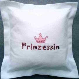 1 Kinderkissen - Prinzessin- - Bild vergrößern