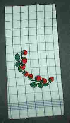 Geschirrtuch mit Erdbeeren